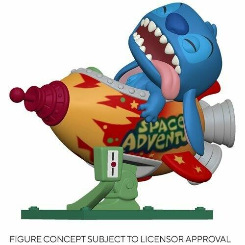 PRE-ORDER Lilo & Stitch Stitch in Rocket Pop! Vinyl Vehicle