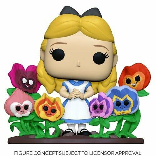 PRE-ORDER Alice in Wonderland 70th Anniversary Alice with Flowers Deluxe Pop! Vinyl Figure
