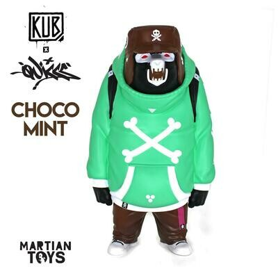 Quiccs Honor Amongst Crooks KUB Choco Mint by Quiccs x Martian Toys x UVD Toys