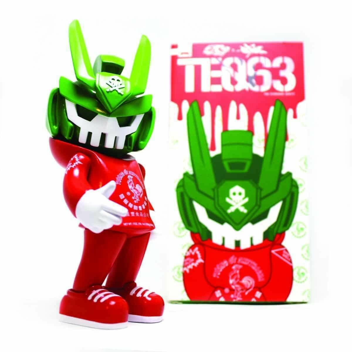 Quiccs Sketracha63 Teq 63 by Sket One x Quccs x Martian Toys