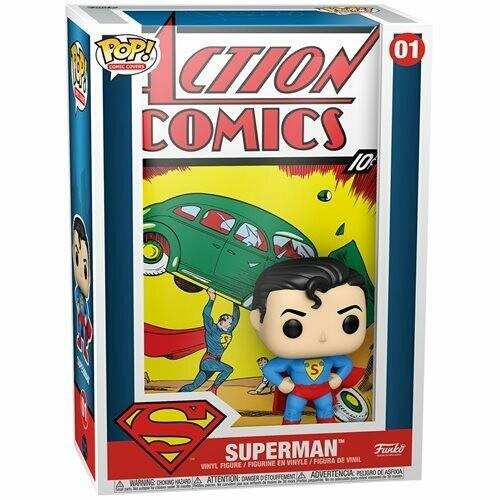 PRE-ORDER Superman Action Comic Pop! Comic Cover Figure
