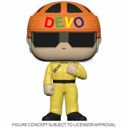 PRE-ORDER Devo Satisfaction (Yellow Suit) Pop! Vinyl Figure