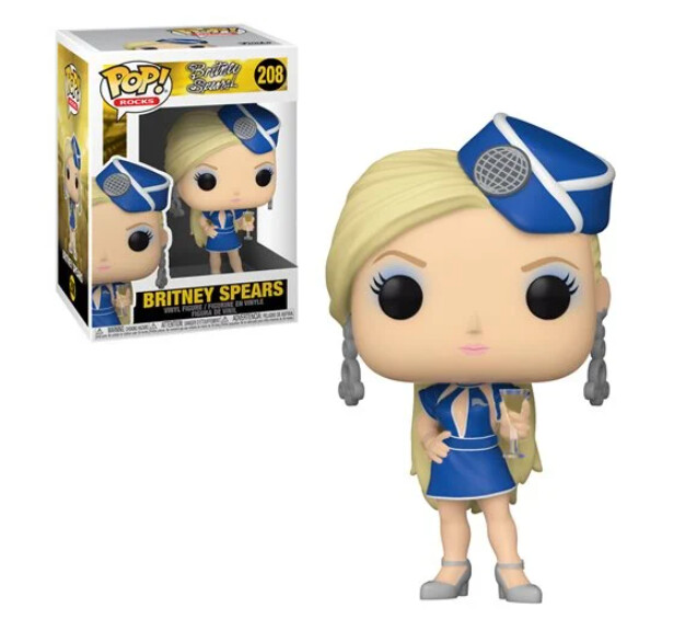 Britney Spears Toxic Stewardess Pop! Vinyl Figure - 2nd batch