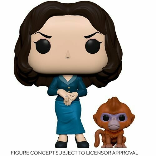 PRE-ORDER His Dark Materials Mrs. Coulter Pop! Vinyl Figure with Daemon Buddy
