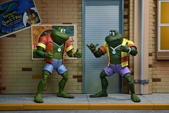"PRE-ORDER TMNT (Cartoon) – 7"" Scale Action Figure – Napoleon & Atilla Frog  2 pack"