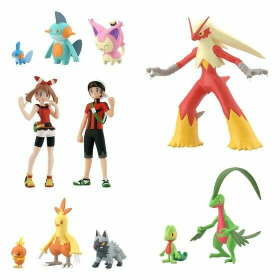 PRE-ORDERRG POKEMON SCALE WORLD HOENN REGION SET