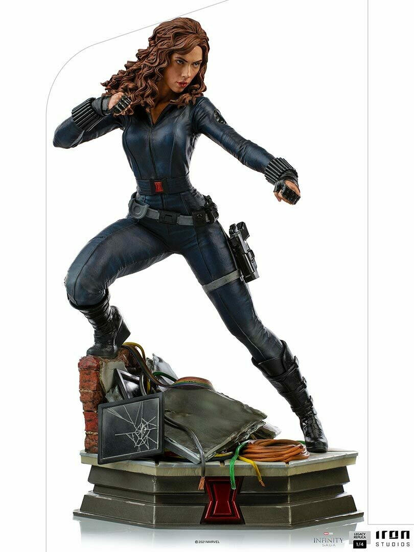 PRE-ORDER Iron Studios Black Widow Legacy Replica 1/4 - The Infinity Saga (Store Pick-up Only)