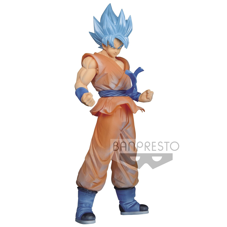 Banpresto DRAGON BALL SUPER CLEARISE SSJ GOD BLUE SON GOKU