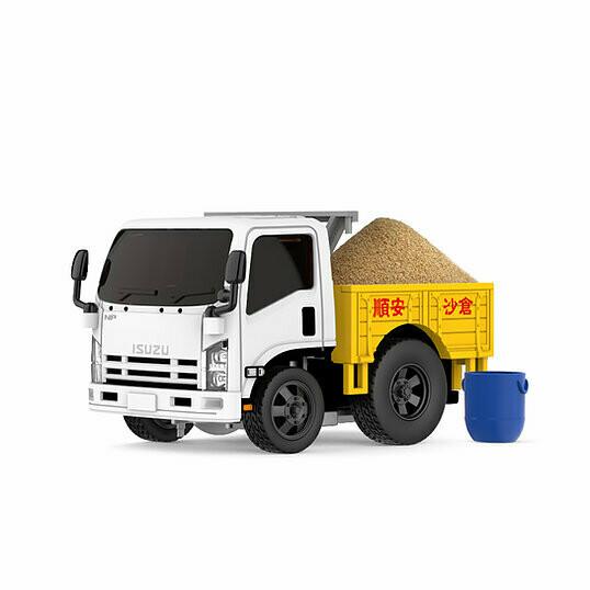 PRE-ORDER Tiny Q Pro-Series 11 - ISUZU N-Series 2006 Sand Truck with Magic Sand