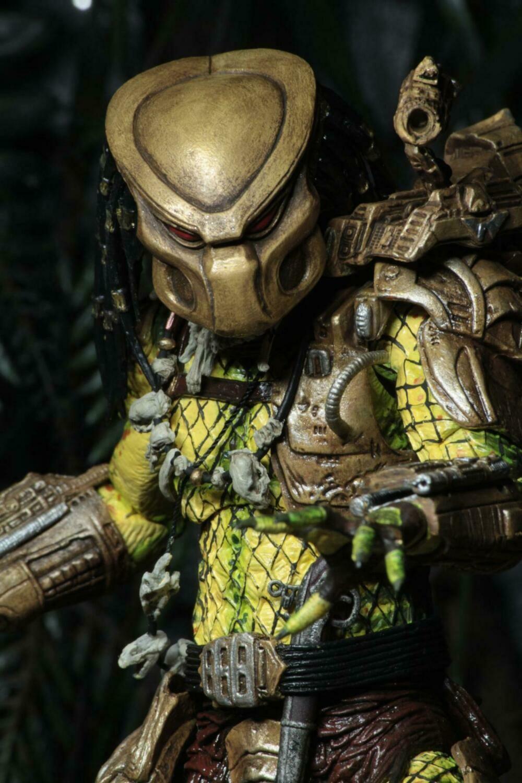 """Predator - 7"""" Scale Action Figure - Ultimate Elder Golden Angel"""