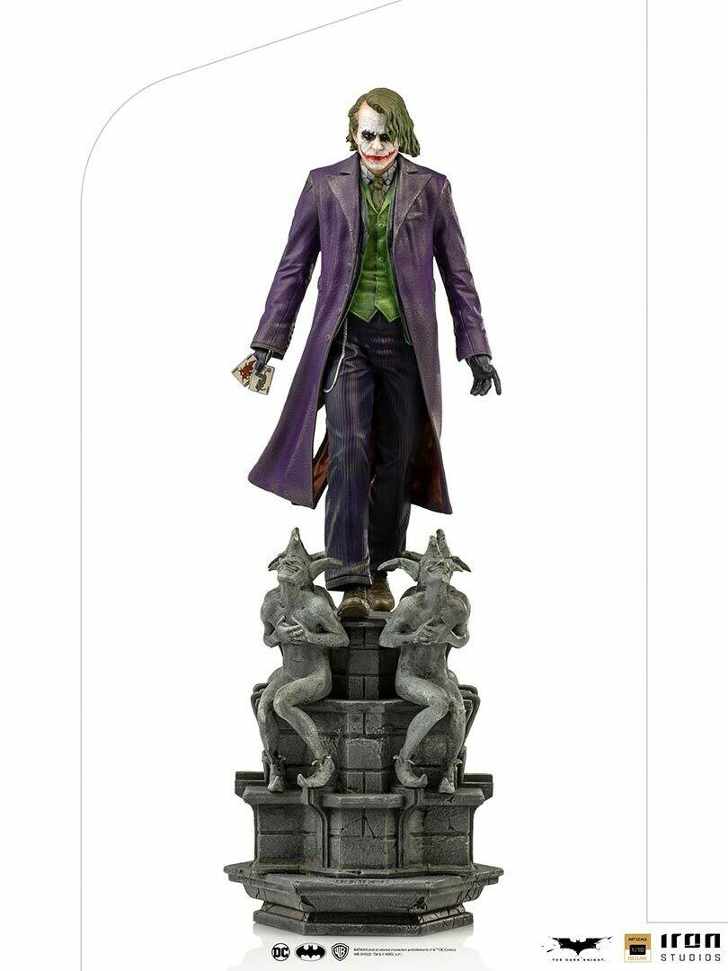 PRE-ORDER Iron Studios The Joker Deluxe Art Scale 1/10 - The Dark Knight