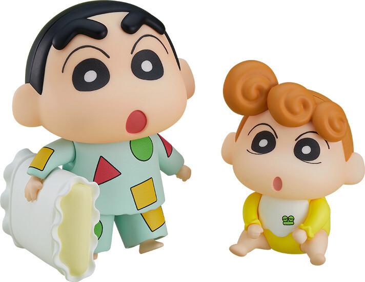 PRE-ORDER Good Smile Nendoroid Shinnosuke Nohara Pajama Ver. & Himawari