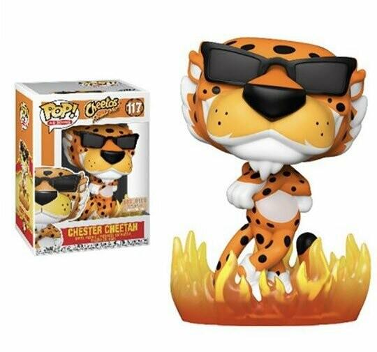 Funko Cheetos - Flaming Hot Chester Cheetah Boxlunch Exclusive Pop! Vinyl Figure