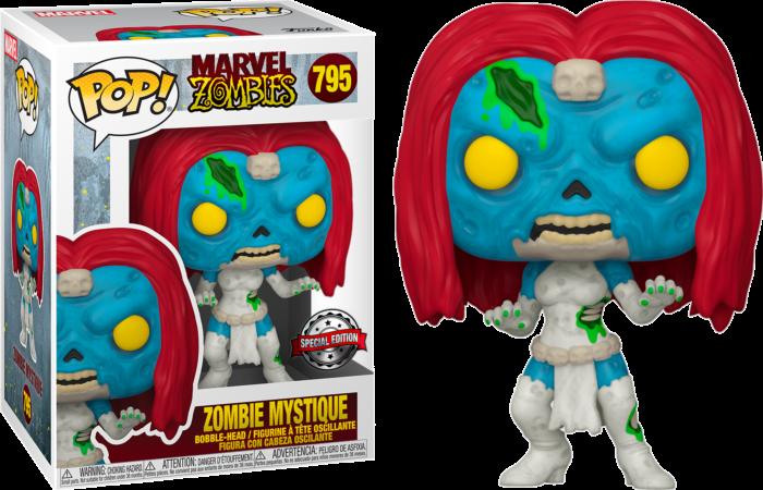 Marvel Zombies - Mystique Exclusive Pop! Vinyl Figure