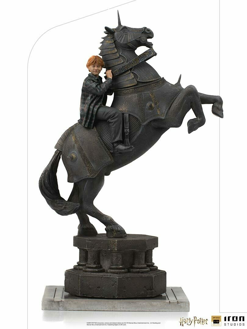 PRE-ORDER Iron Studios Ron Weasley at the Wizard Chess Deluxe Art Scale 1/10 - Harry Potter