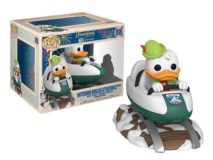 Funko Disneyland 65th Anniversary - Matterhorn Bobsled and Donald Duck Pop! Rides Vinyl Figure