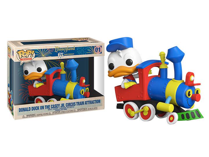 Funko Disneyland 65th Anniversary - Casey Jr. Engine with Donald Duck Pop! Train Vinyl Figure