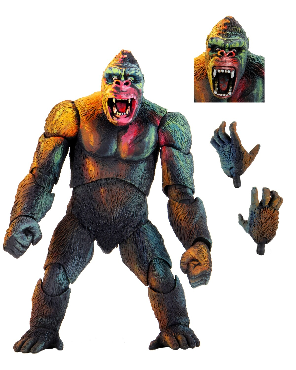 """PRE-ORDER Neca King Kong-7"""" Scale Action Figure – Ultimate King Kong (illustrated)"""