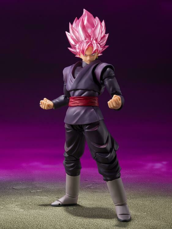 PRE-ORDERR Bandai Dragon Ball Super S.H.Figuarts Goku Black Super Saiyan Rose