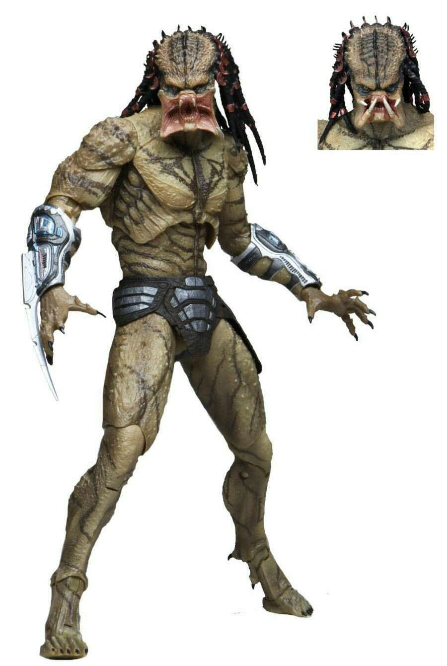 "PRE-ORDER Predator (2018) - 7"" Scale Action Figure - Deluxe Ultimate Assassin Predator (unarmored)"