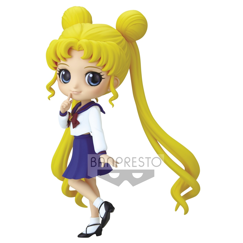 PRE-ORDER Banpresto Q Posket Usagi Tsukino Ver. A Pretty Guardian Sailor Moon Eternal The Movie