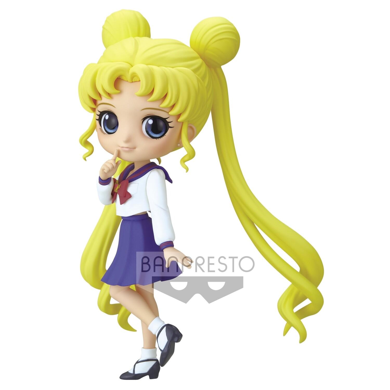 PRE-ORDER Banpresto Q Posket Usagi Tsukino Ver. B Pretty Guardian Sailor Moon Eternal The Movie