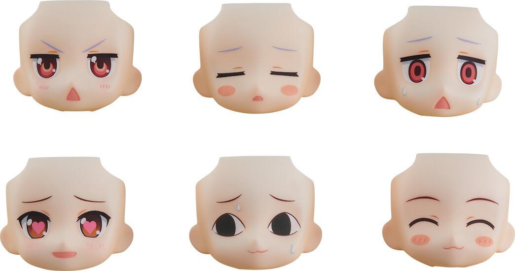 PRE-ORDER Good Smile Nendoroid More: Face Swap Non Non Biyori Nonstop (6pcs/box)