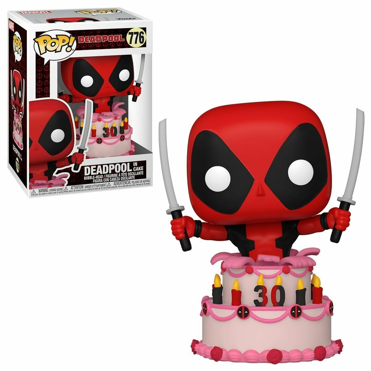 Funko Deadpool 30th Anniversary Deadpool in Cake Pop! Vinyl Figure