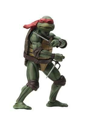 "PRE-ORDER Neca TMNT – 7"" Scale Action Figure – 1990 Movie Raphael (Reproduction 2021)"