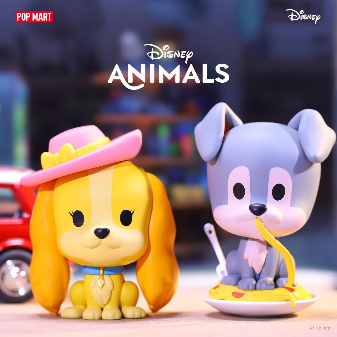 Pop Mart Disney Animals Series Blind Box of 12