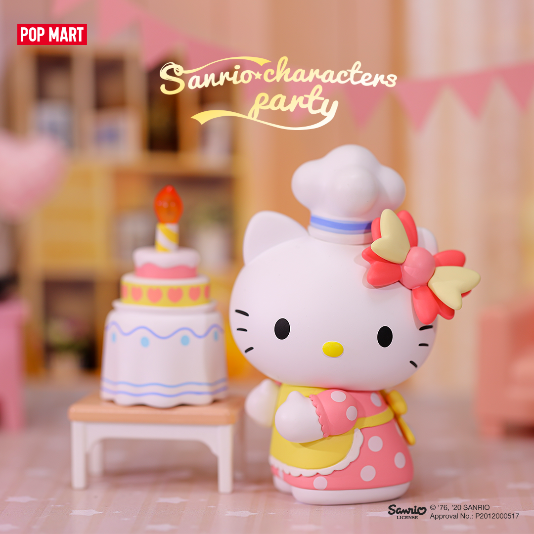 PRE-ORDER Pop Mart Sanrio Characters Party Blind Box of 12