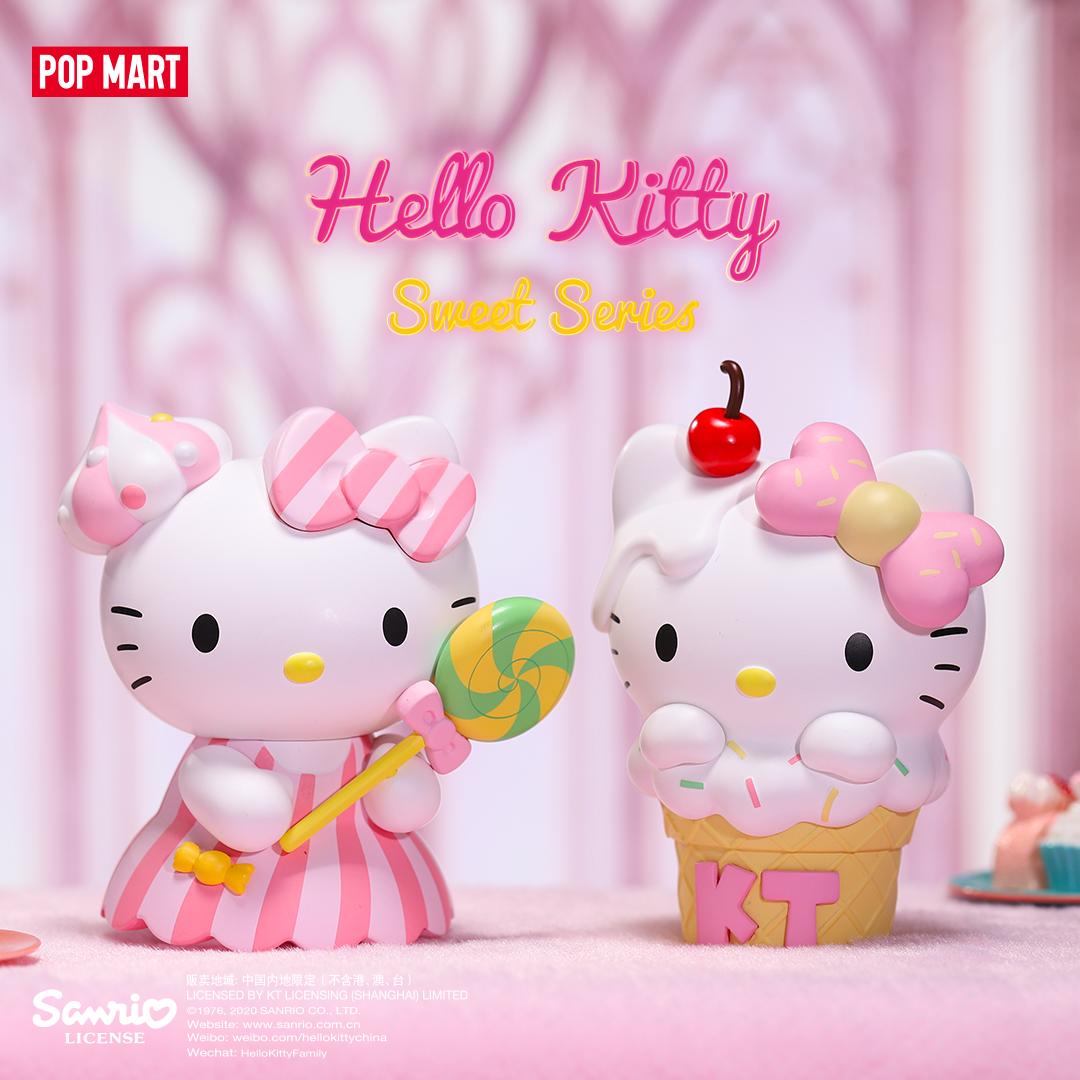 PRE-ORDER Moetech Pop Mart Hello Kitty Sweet Series Blind Box of 12