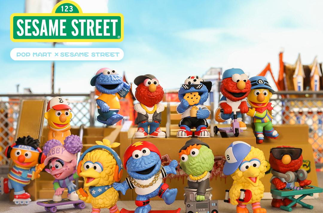 Pop Mart Sesame Street #2 Series Blind Box of 12