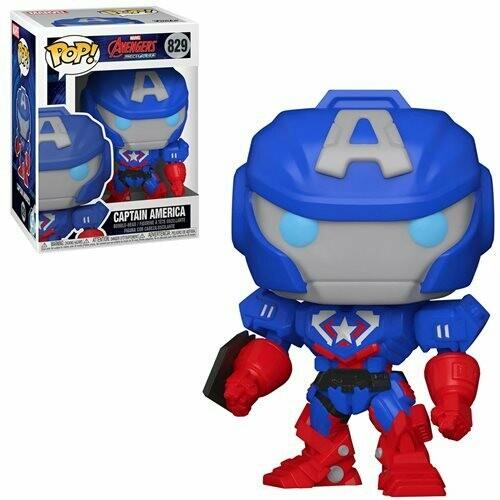 Funko Marvel Mech Captain America Pop! Vinyl Figure