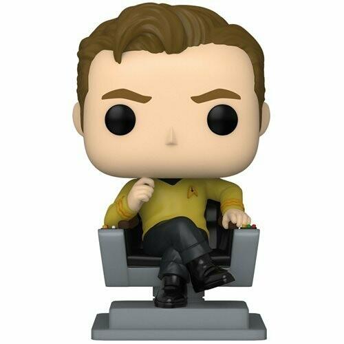 PRE-ORDER Funko Star Trek: The Original Series Captain Kirk in Chair Pop! Vinyl Figure