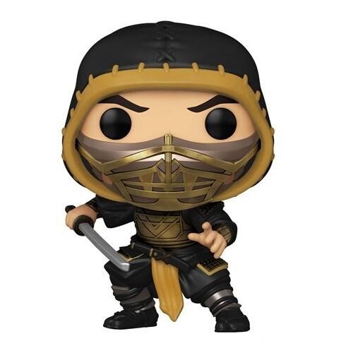 PRE-ORDER Funko Mortal Kombat 2021 Scorpion Pop! Vinyl Figure