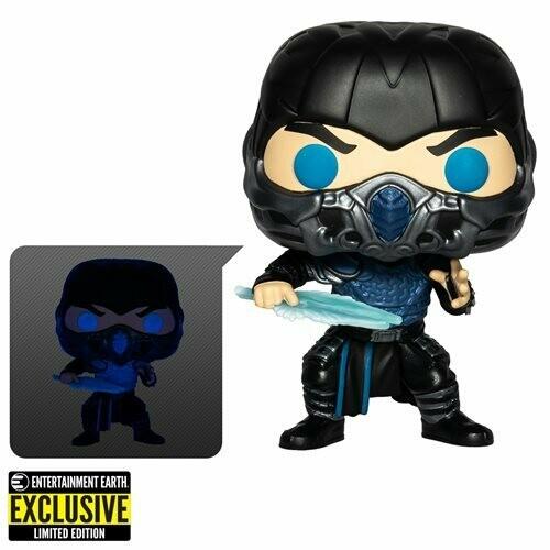 PRE-ORDER Mortal Kombat 2021 Sub-Zero Glow-in-the-Dark Pop! Vinyl Figure - Entertainment Earth Exclusive