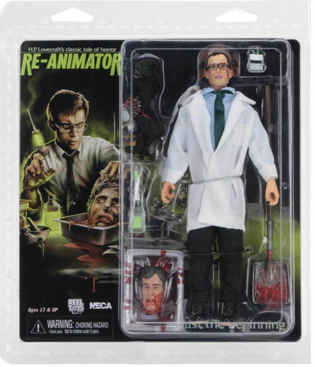"PRE-ORDER Neca Re-Animator - 8"" Clothed Figure - Herbert West"