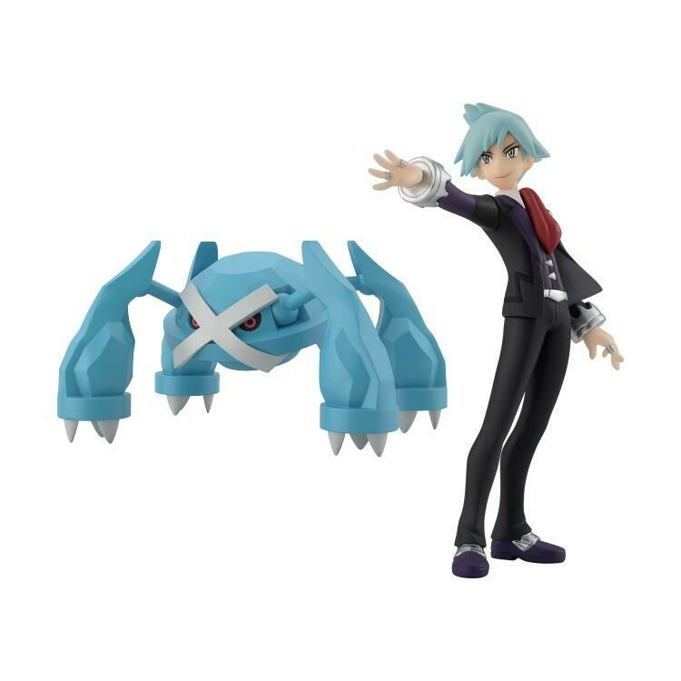 PRE-ORDER Bandai Pokemon Scale World Hoenn Region Steven and Metagross Two Pack
