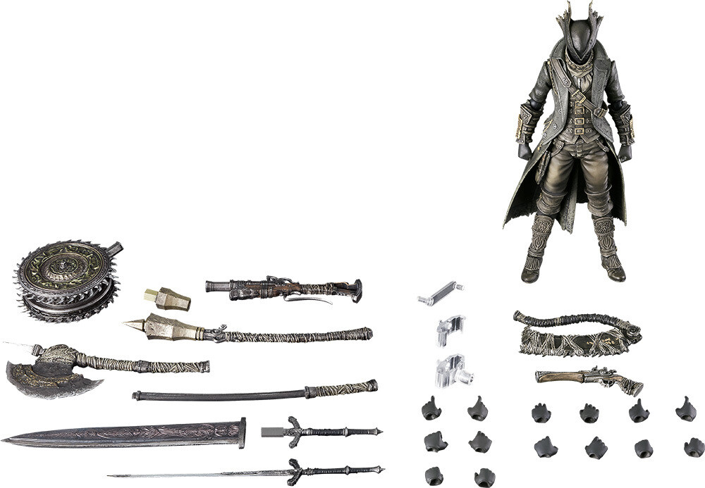 PRE-ORDER Good Smile Bloodbourne figma Hunter: The Old Hunters Edition
