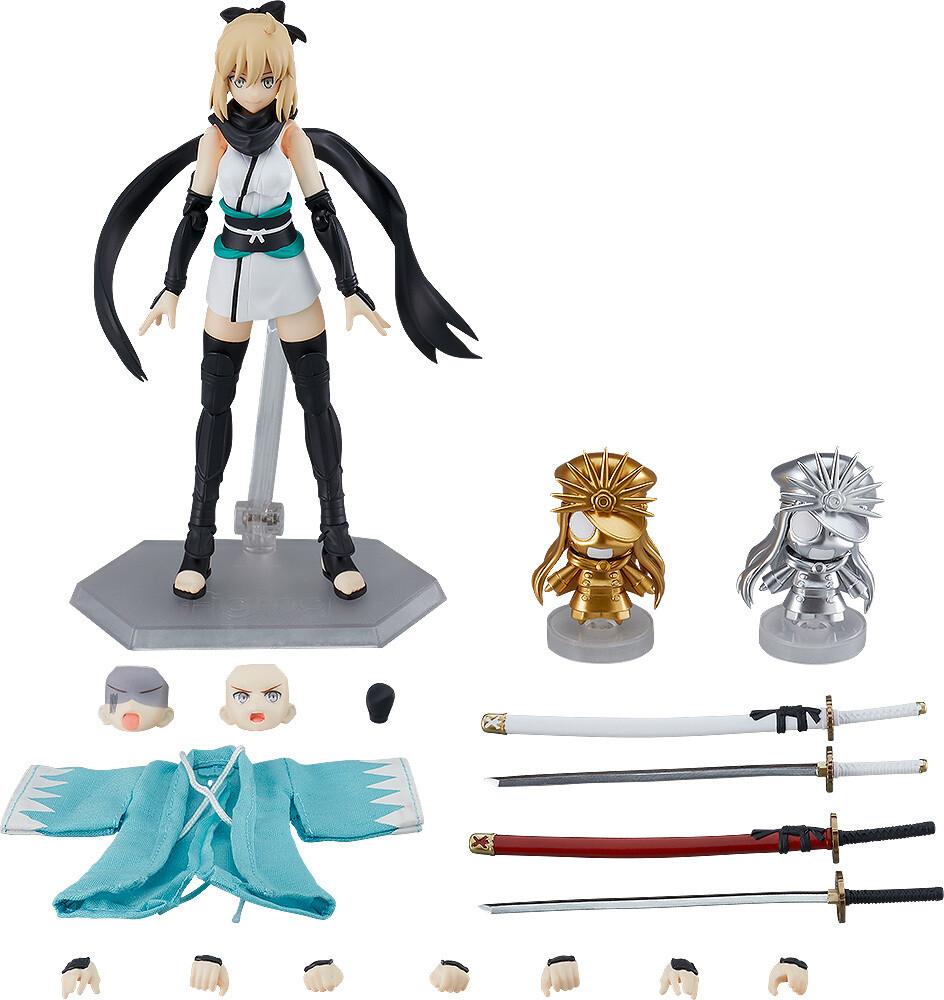 PRE-ORDER Good Smile Fate Grand/Order figma Saber/Okita Souji Ascension ver.