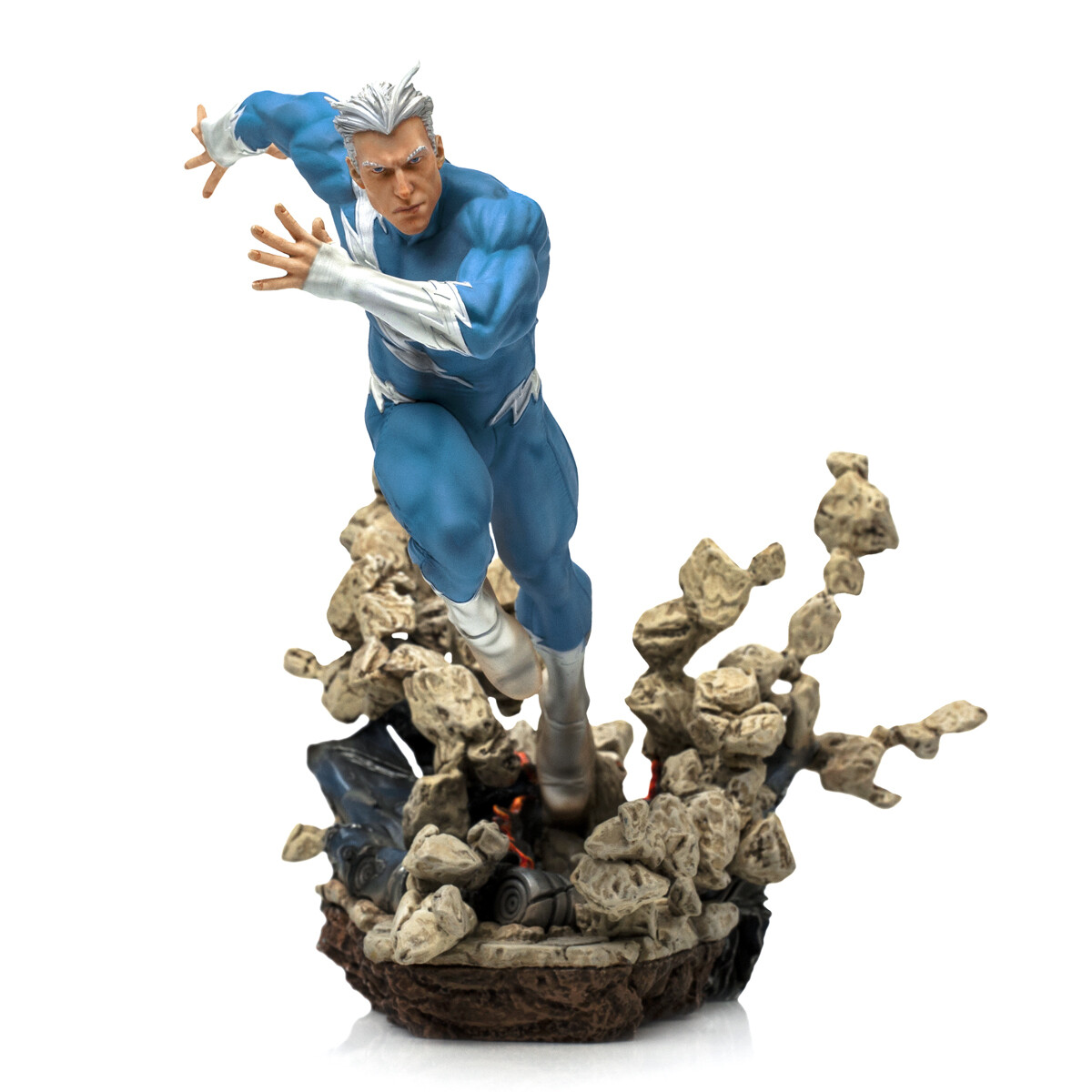 PRE-ORDER Iron Studios Quicksilver BDS Art Scale 1/10 - Marvel Comics