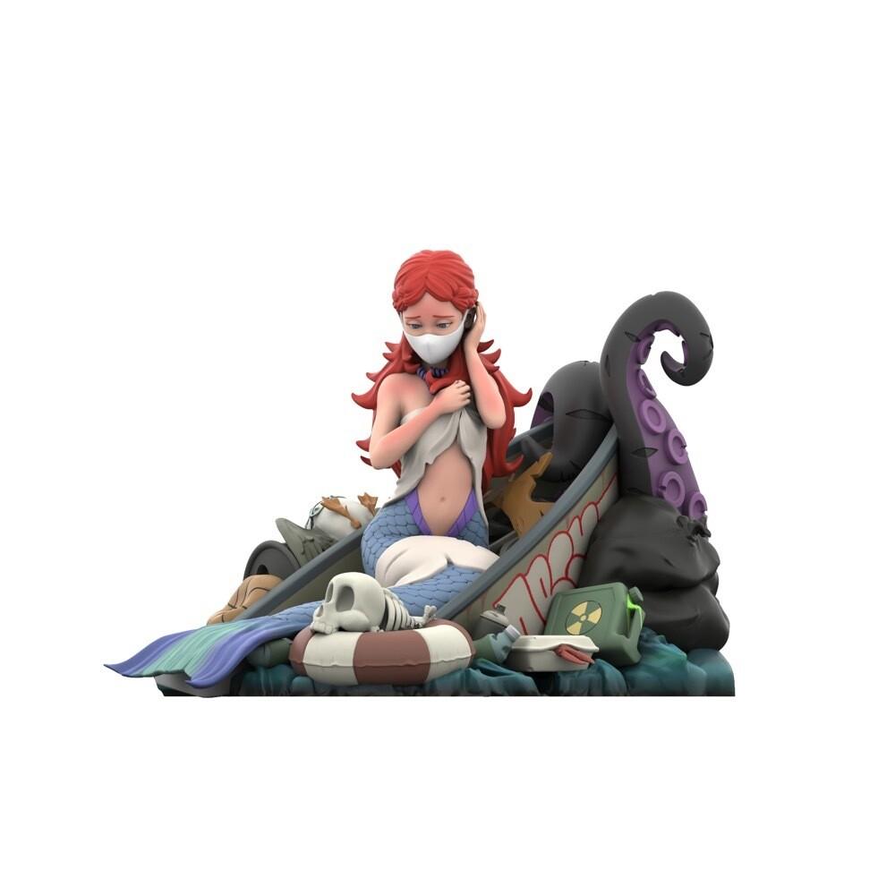 PRE-ORDER Mighty Jaxx Mermaid's Ruin by ABCNT