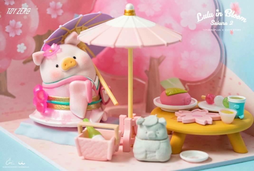 LuLu the Piggy Sakura Garden Premium Set