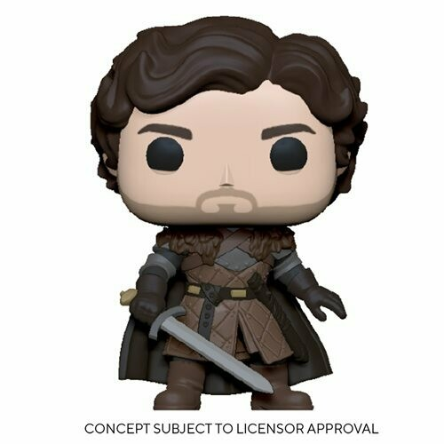 PRE-ORDER Game of Thrones Robb Stark with Sword Pop! Vinyl Figure