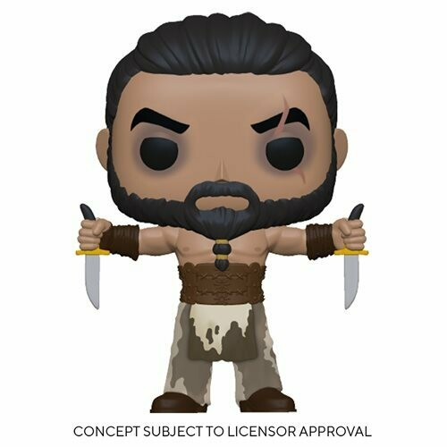 PRE-ORDER Funko Game of Thrones Khal Drogo with Daggers Pop! Vinyl Figure