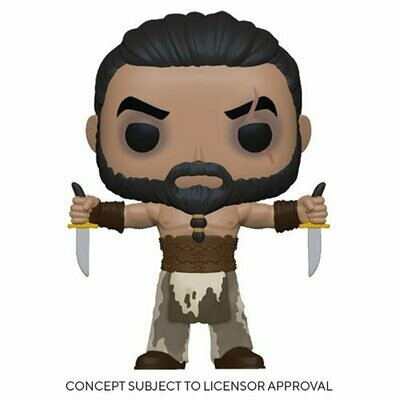 PRE-ORDER Game of Thrones Khal Drogo with Daggers Pop! Vinyl Figure