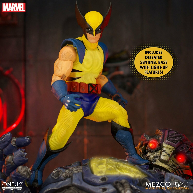 PRE-ORDER Mezco One : 12 Collective Wolverine - Deluxe Steel Box Edition