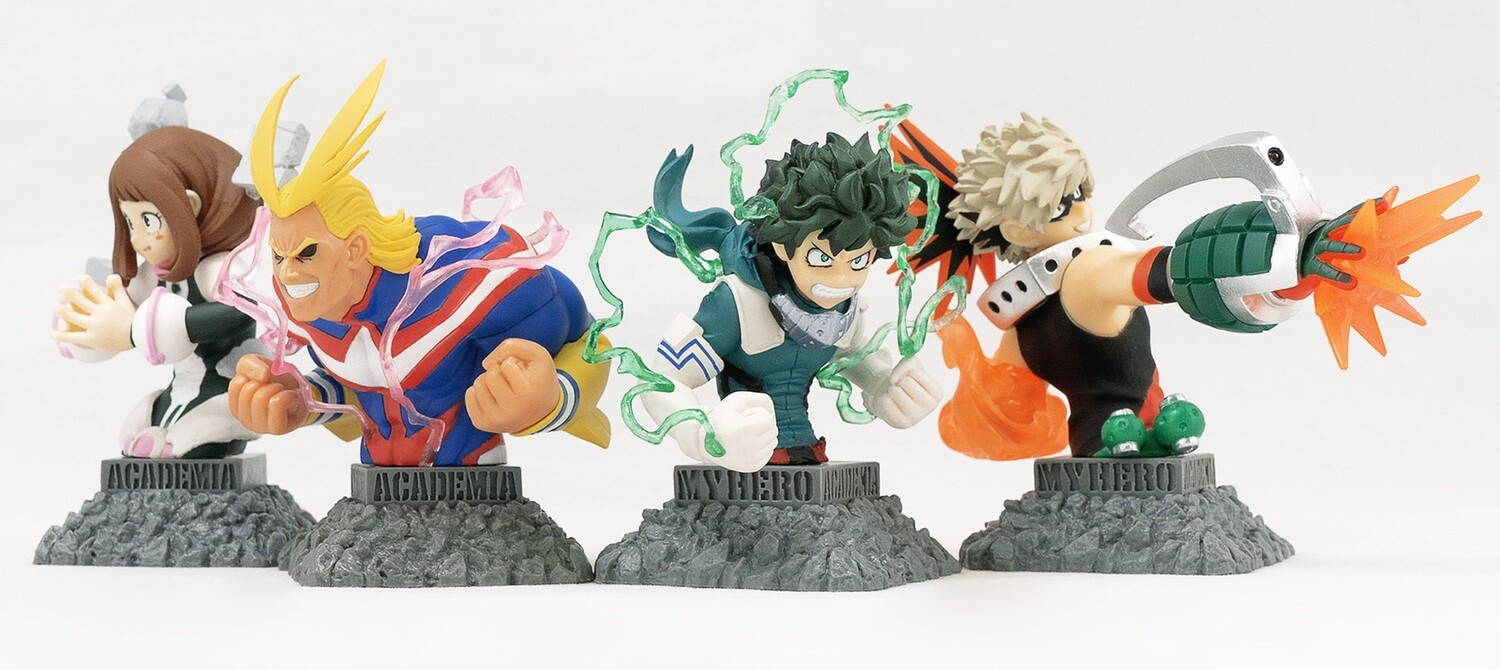 PRE-ORDER Good Smile My Hero Academia Bust Up Heroes (8pcs/box)