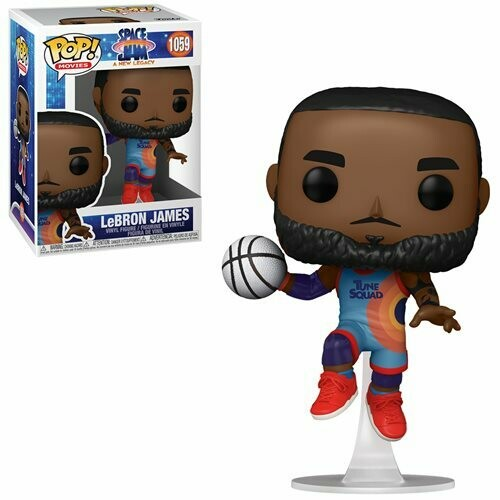 PRE-ORDER Space Jam: A New Legacy LeBron James Leap Pop! Vinyl Figure - 2nd Batch